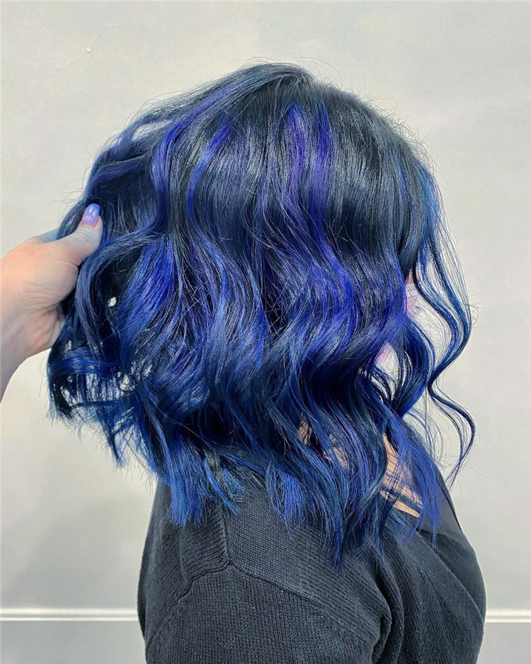 Short Black and Blue