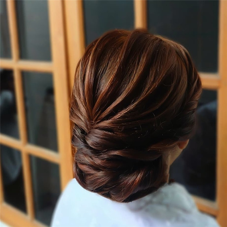 Simple Updo Hair 2021