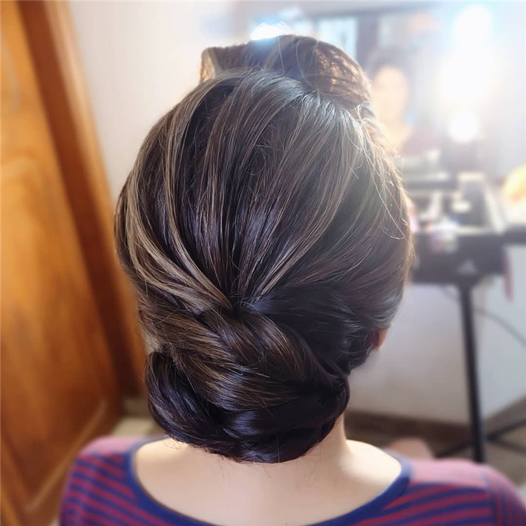 Simple Updo Hair