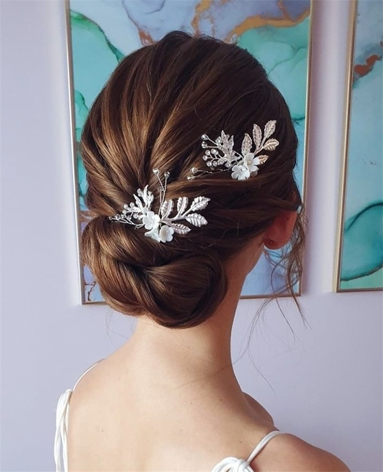 Textured Updo Hairstyle