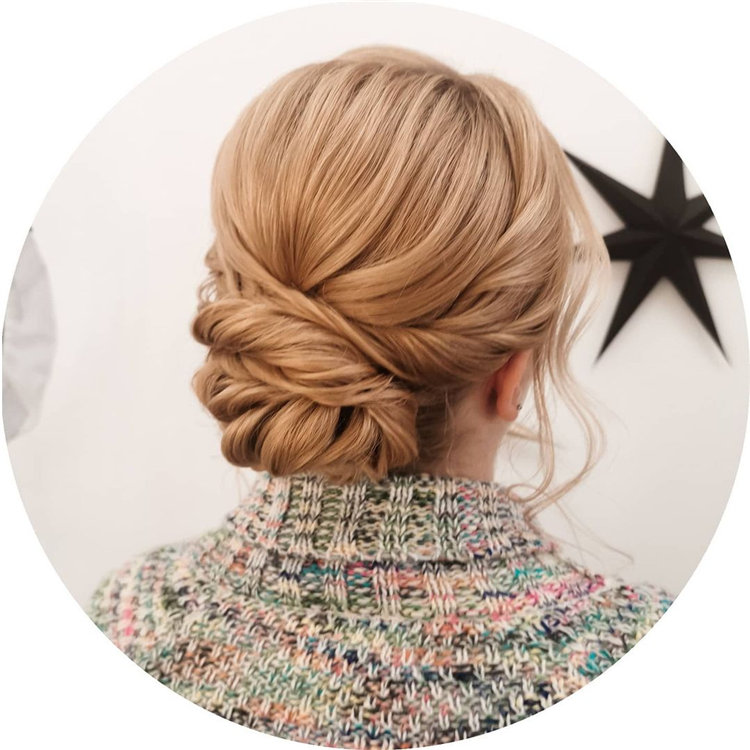 Twisted Hair Updos