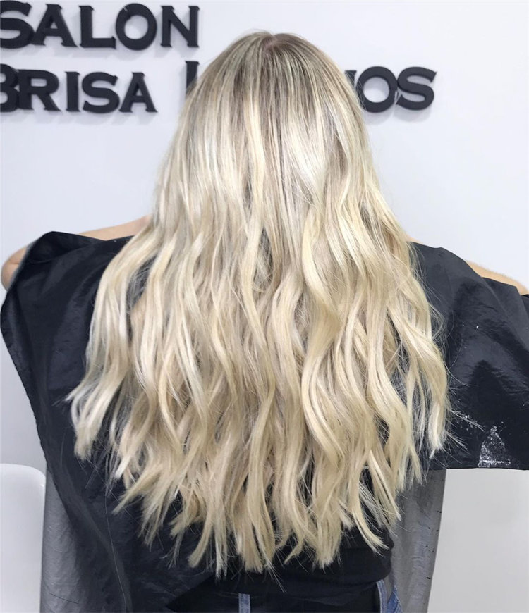 Balayage Ice Blonde