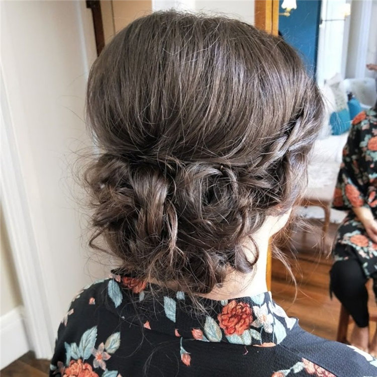 Beautiful Bridesmaid Hair