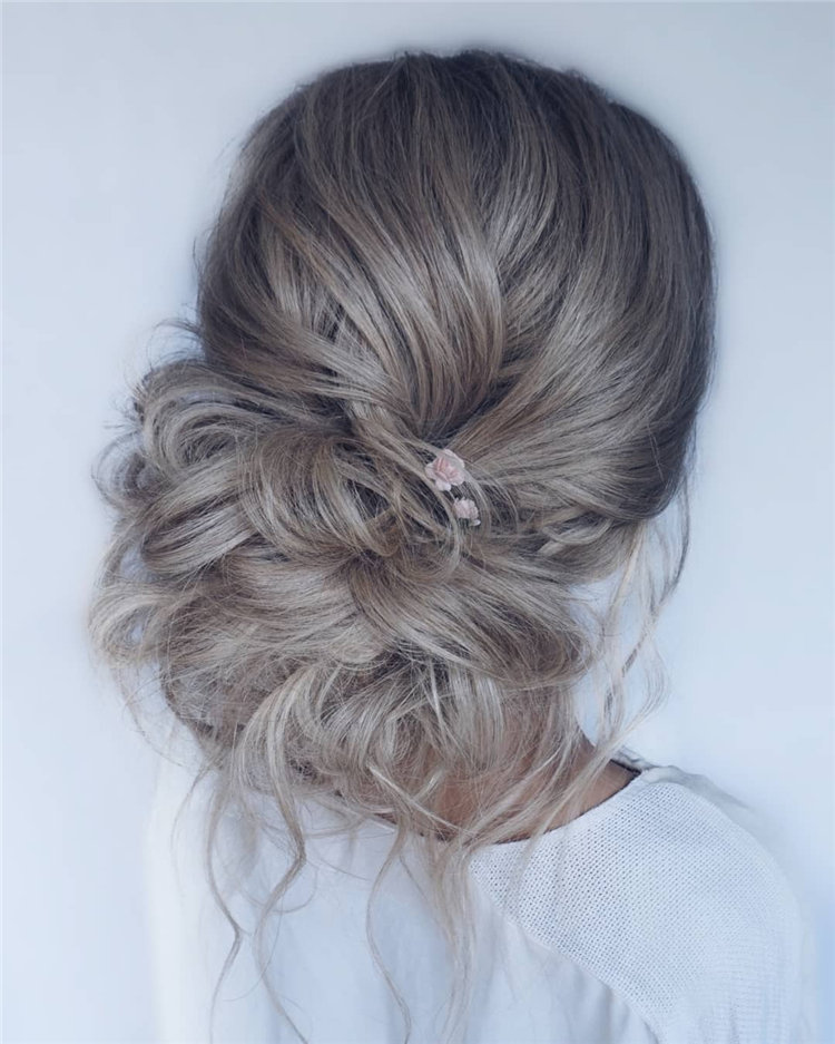 Bridal Bun Low Bun