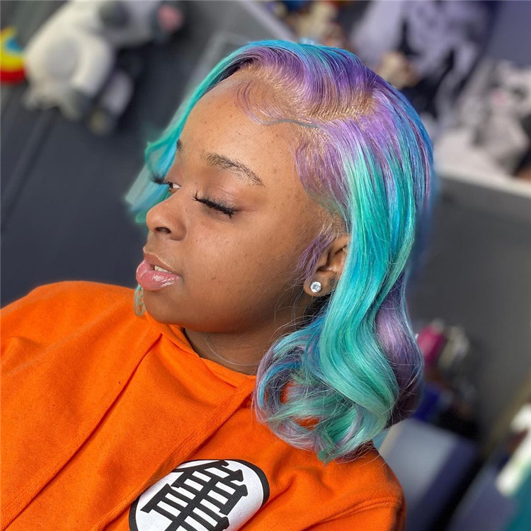 Gorgeous Side Part Bob with Winning Looks 10