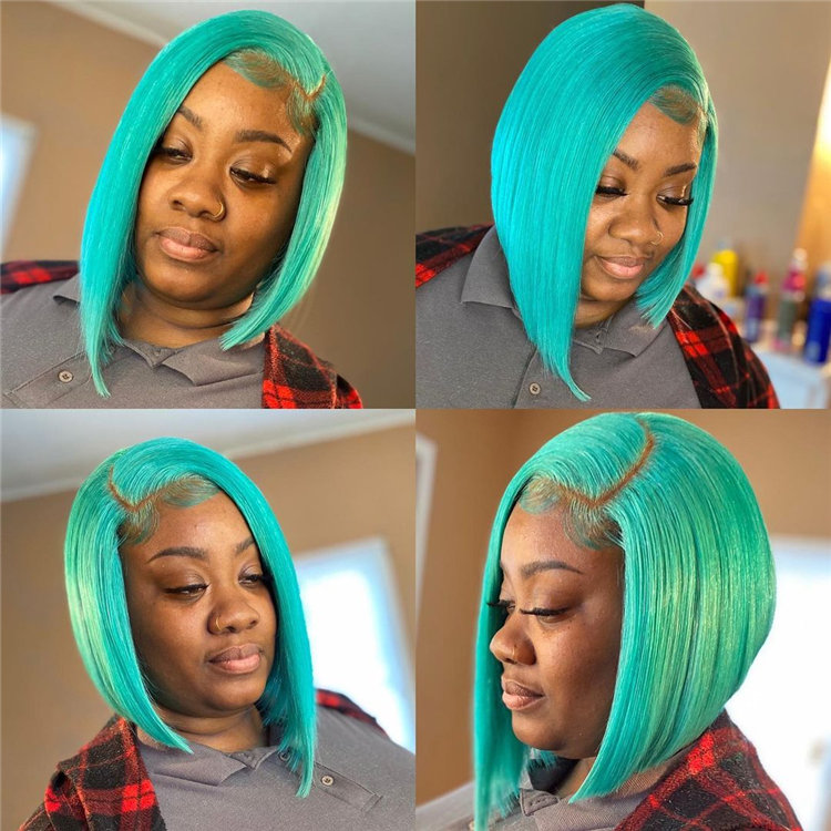 Gorgeous Side Part Bob with Winning Looks 24
