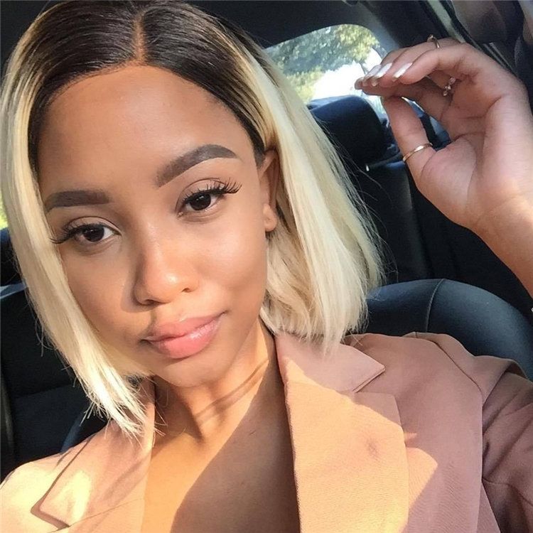 Gorgeous Side Part Bob with Winning Looks 26