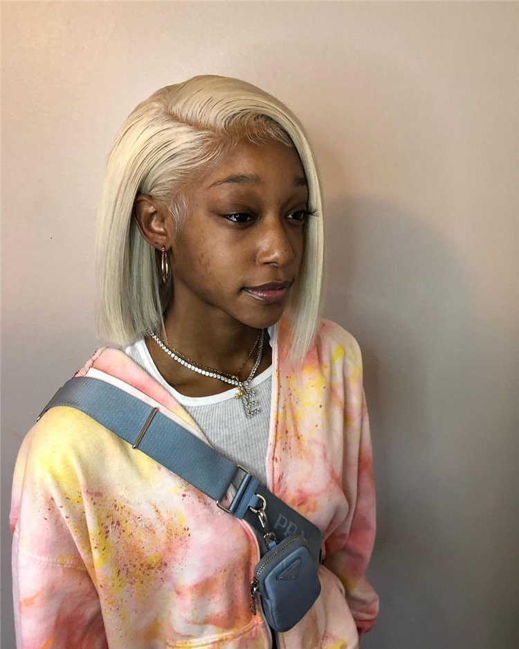 Gorgeous Side Part Bob with Winning Looks 37