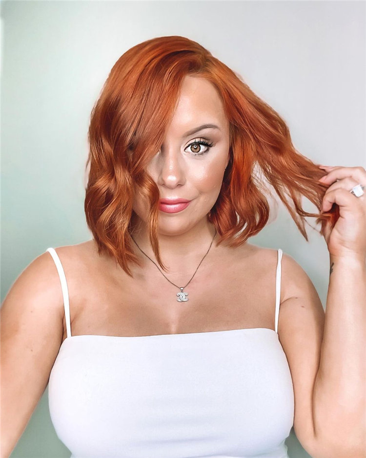 Gorgeous Side Part Bob with Winning Looks 38