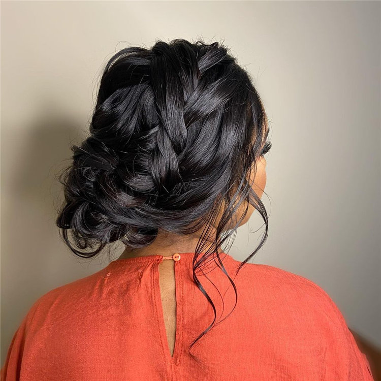 Low Bun for Women