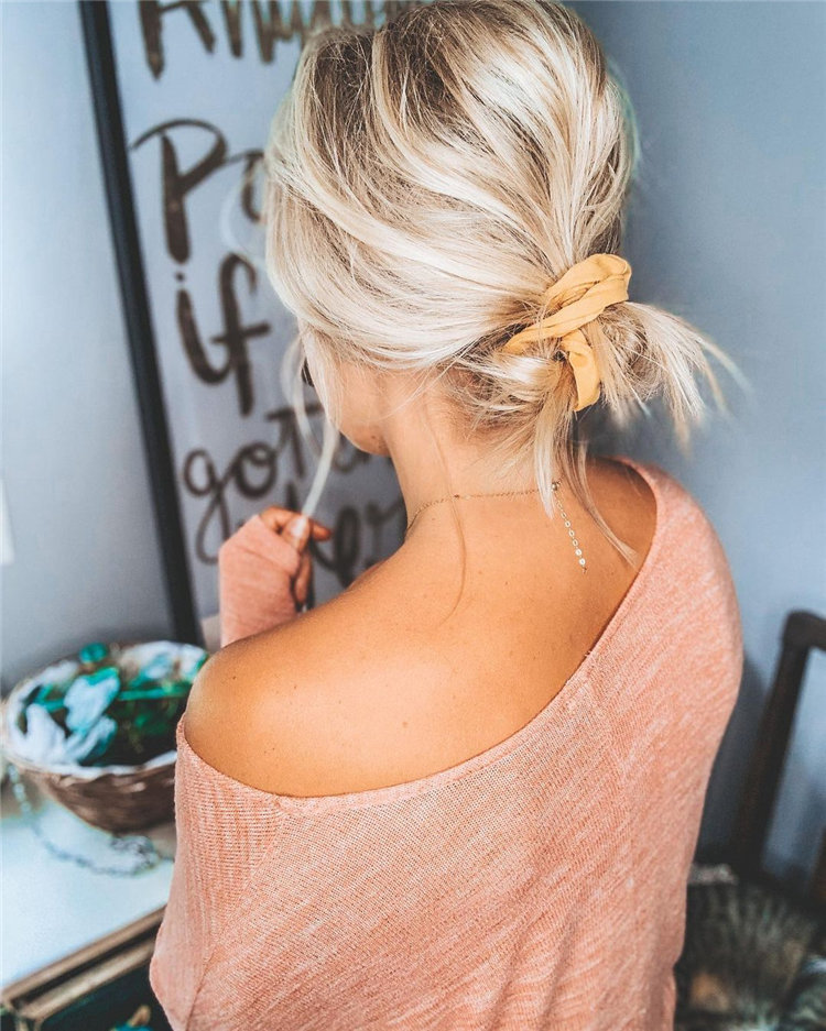 Low Undone Bun