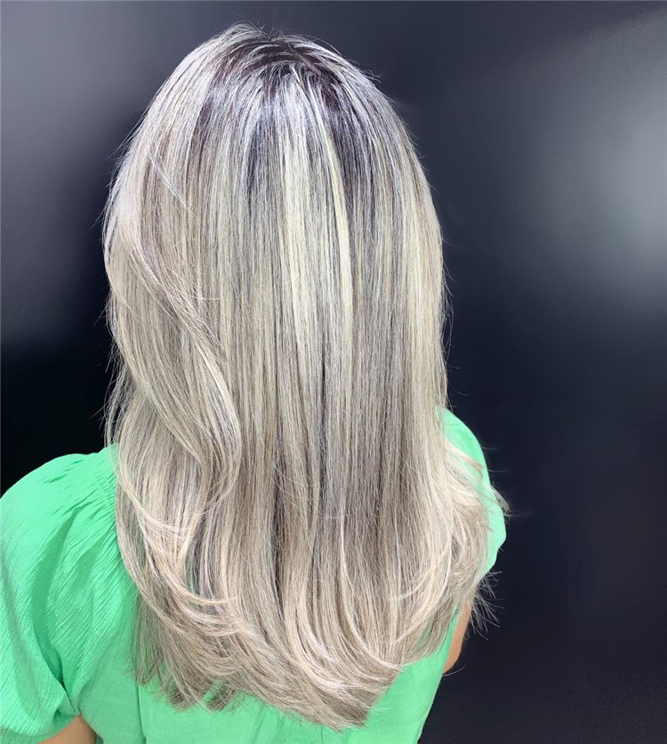 Medium Blonde Balayage