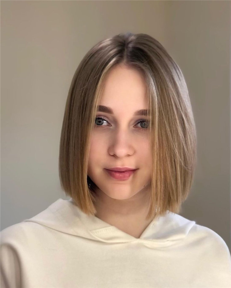 Middle Parting Bob Hairstyles