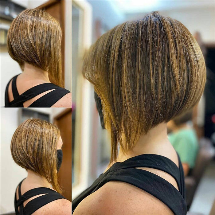 Extreme Inverted Bob Hairstyles
