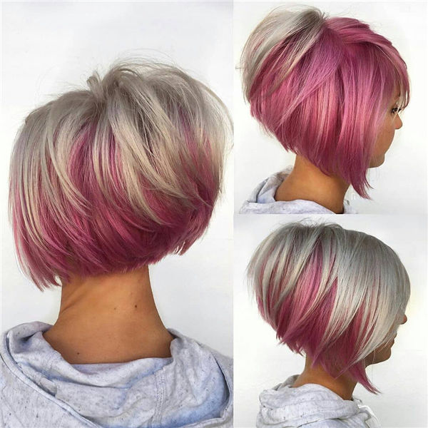 Pink and Blonde Tones