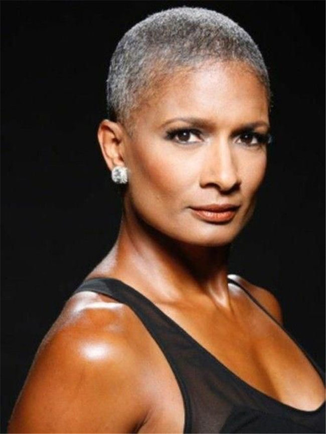 Super Short Hairstyles for Black Women Over 50