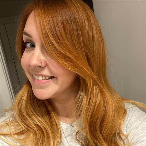 Blonde Fall Hairstyle