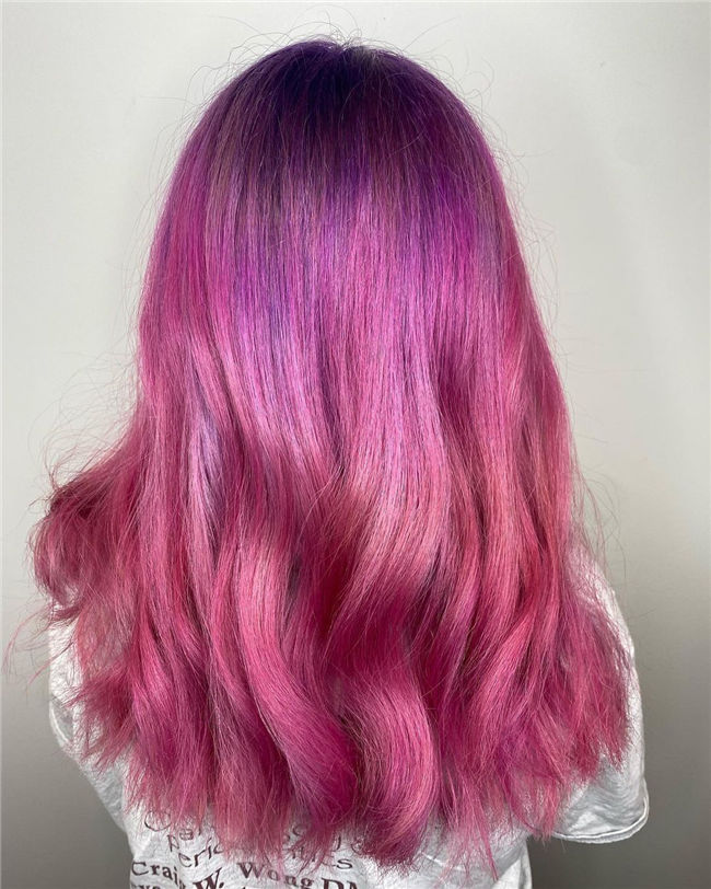 Lilac Root Into Pink