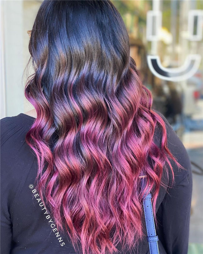 Ombre Balayage Hair Color